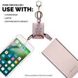 USB & iPhone Charger Pink - FINAL SALE