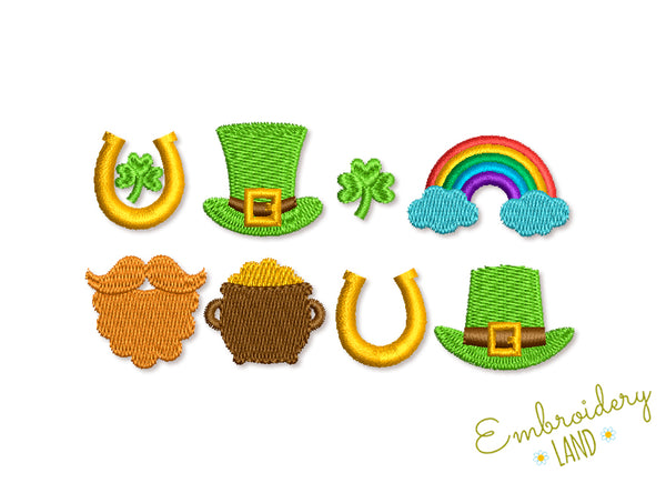 St Patrick Mini Designs Set SP021