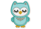 Sleep Time Owl Applique DE021