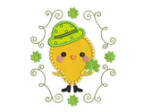Shamrock Chicken Applique SP007