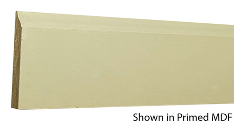 "Profile view of a MDF Base molding, product number PMBA320 1/2"" x 3-1/4"" - $0.56/ft. sold by American Wood Moldings"