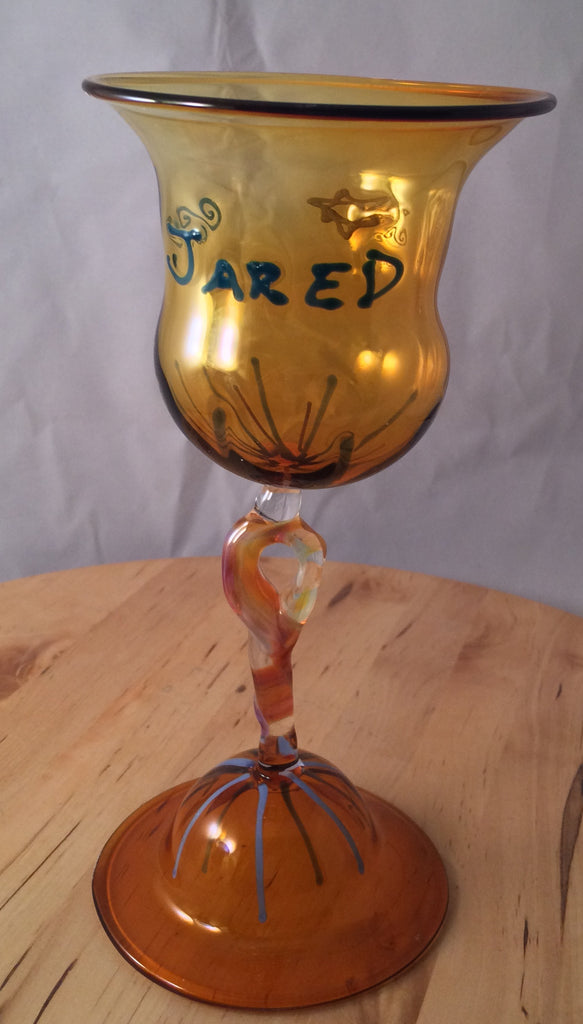 Personalized Glass Cup