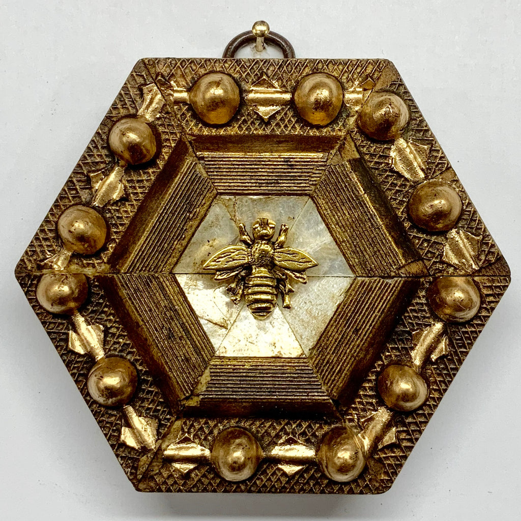 Gilt Frame with Napoleonic Bee (3.75