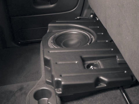 "Q Logic Q Customs QL-C1DQC110D/P Single 10"" Subwoofer Enclosures Box"