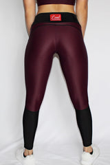 Charisse Collection - Leggings (Maroon) - Scal Clothing - 3