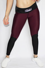 Charisse Collection - Leggings (Maroon) - Scal Clothing - 1