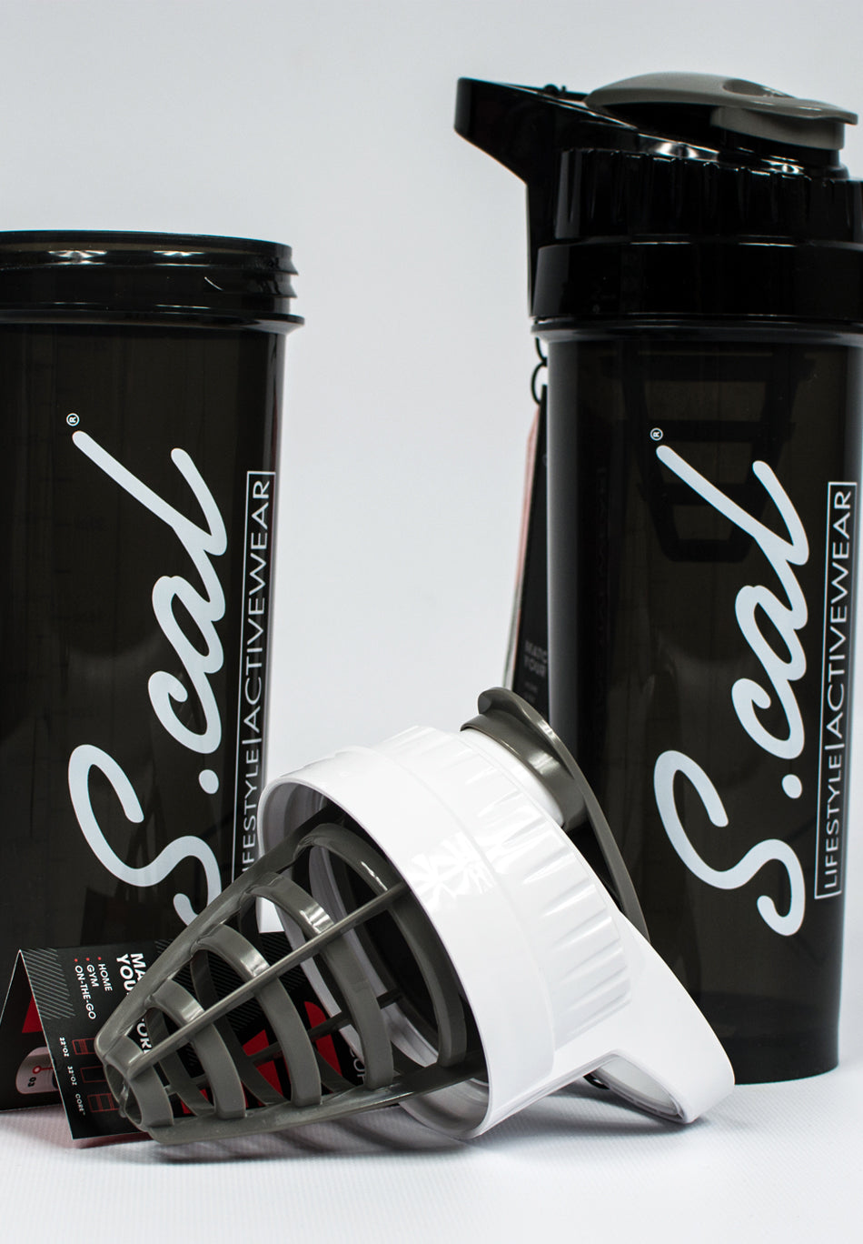 Scal - Shaker Cup 32oz - Black - Scal Clothing