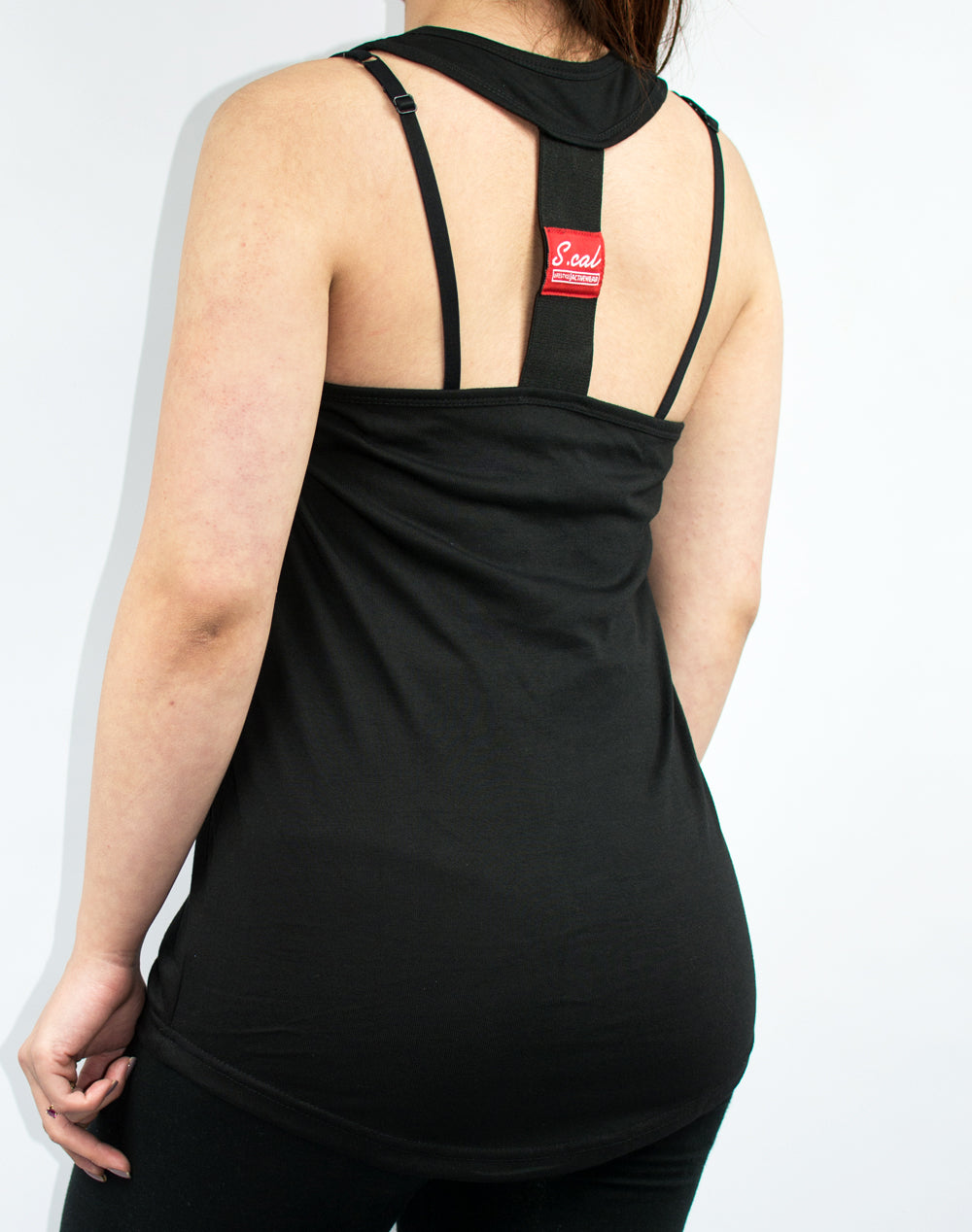 Women's Tech Tank - Black - Scal Clothing