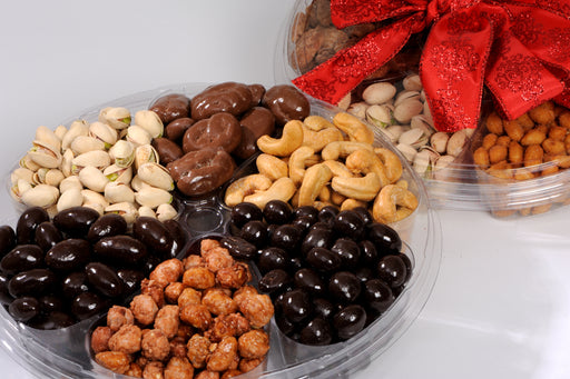 6 Assortment Chocolate & Nut Container Gift
