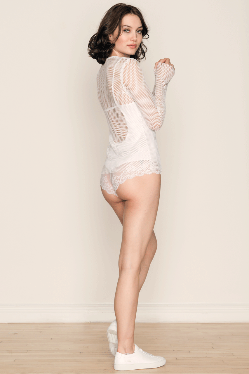 Only Hearts So Fine with Lace Low-Back Bodysuit - Knickers & Pearls Boutique - 6