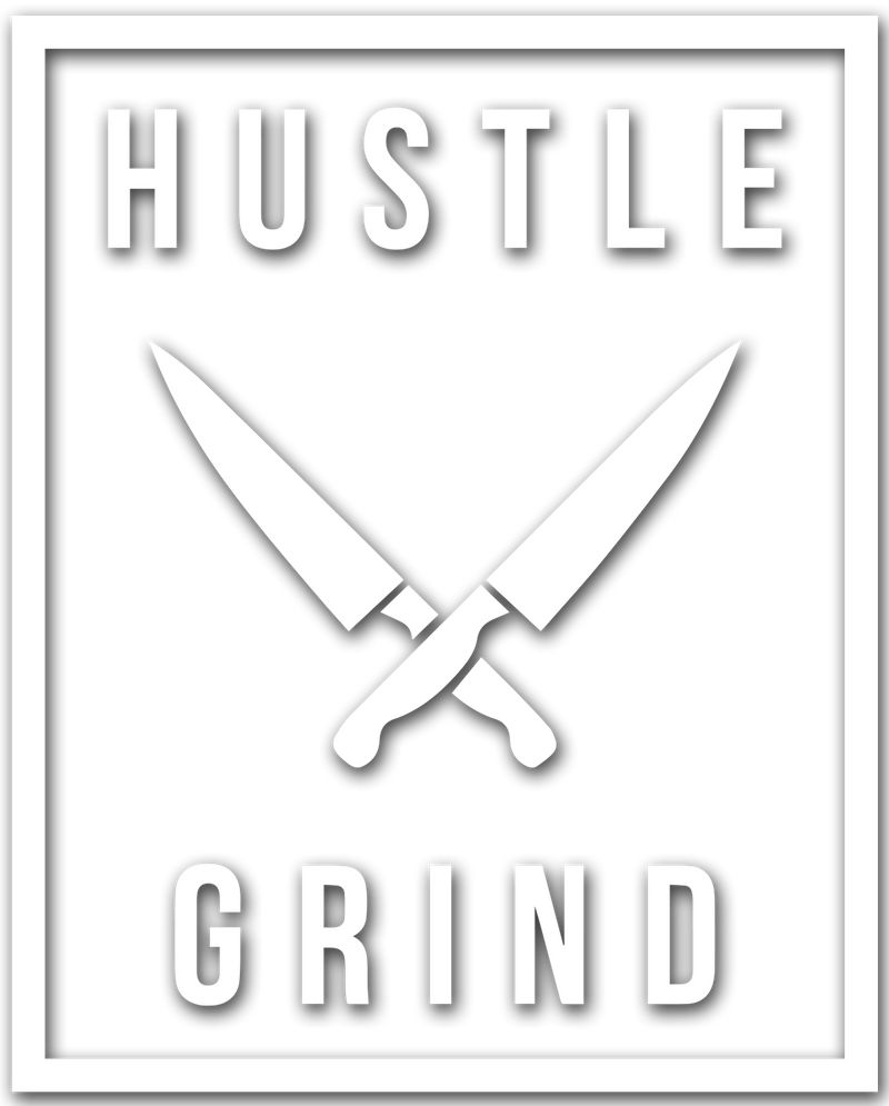 HUSTLE GRIND Decal