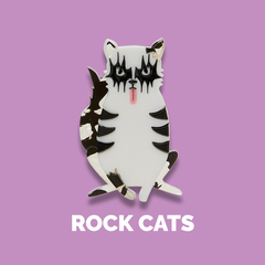 Shop Erstwilder Rock Cats Design