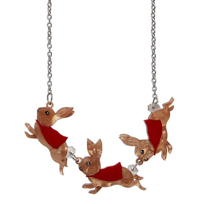 Flopsy, Mopsy & Cottontail Necklace