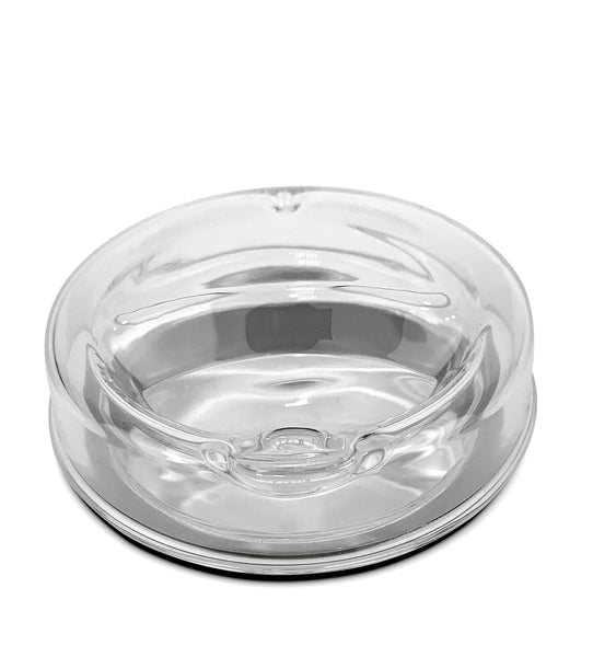 Glass Lid Only - IOCO All Glass Tea & Coffee Traveller 8oz Replacement Lid