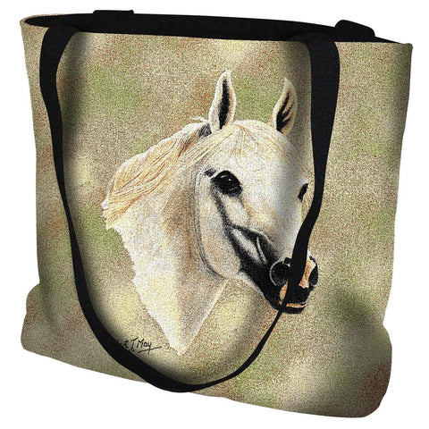 Arabian Horse II Portrait Art Tapestry Tote Bag