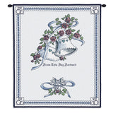 Matrimony Art Tapestry Wall Hanging in Blue