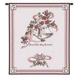 Matrimony Art Tapestry Wall Hanging in Pink