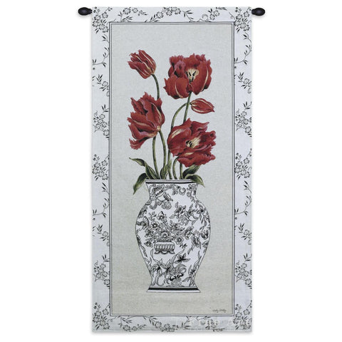 Tulip Arrangement Art Tapestry Wall Hanging