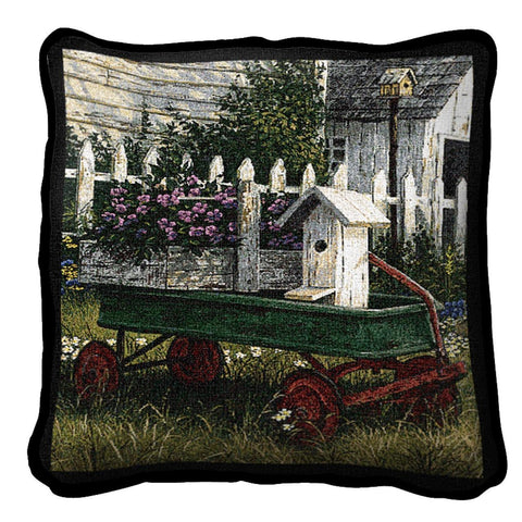 Antique Wagon Pillow