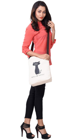 'PUCCI' Canvas eco friendly Reusable Shopping Tote Sling Bag