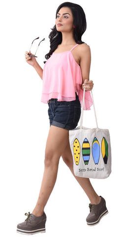 'UKANA' Cotton eco friendly Reusable Shopping Grocery Tote Bag