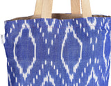 'JOLA' Handloom Cotton eco friendly Reversible Shopping Tote Bag