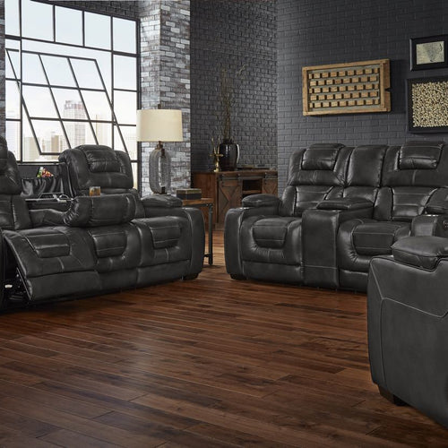 Leather And Gel Infused Reclining Sofa And Loveseat My