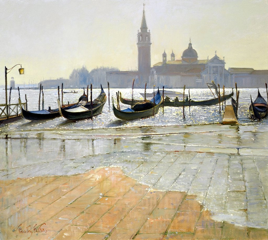 Detail of Venice at Dawn by Timothy Easton