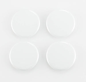 "Buttonsmith® CUSTOM 1.25"" Magnet Set - Set of 4"