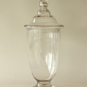 "Apothecary Jar 19"" M882 - Richview Glass Wedding Supplies"