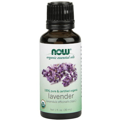 Lavender, Certified Organic Essential Oil by NOW