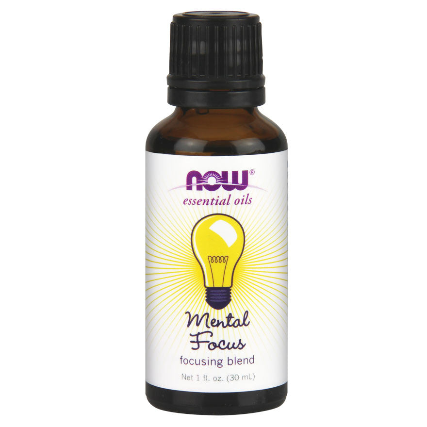 Mental Focus Essential Oil by NOW