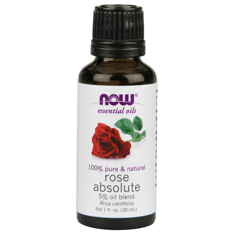 Rose Absolute Essential Oil by NOW