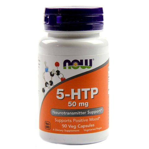 5-HTP 50mg by NOW