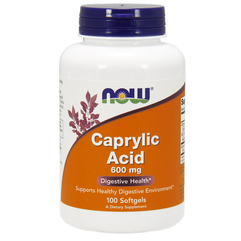 Caprylic Acid 600mg by NOW
