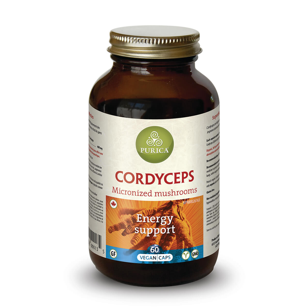 Cordyceps Energy Support by Purica (60 Capsules)