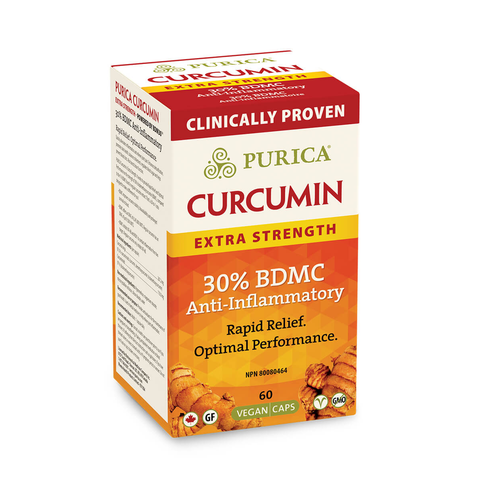 Curcumin Extra Strength by Purica (60 Capsules)
