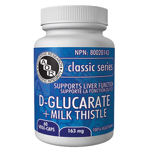 D-Glucarate + Milk Thistle by AOR