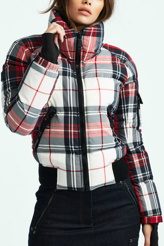 Freestyle Plaid Bomber