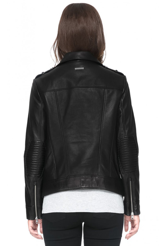 Bryony Moto Leather Jacket