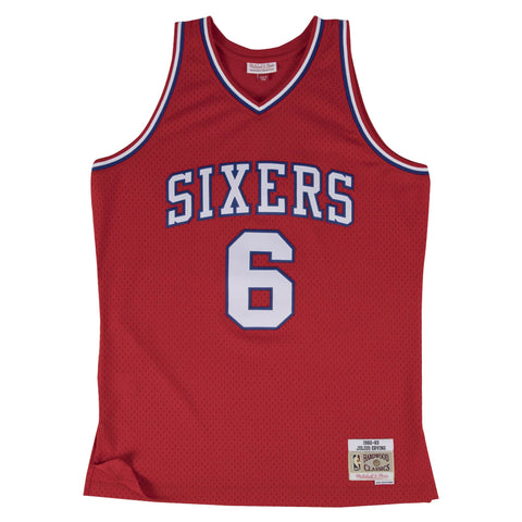 Julius Erving Swingman Jersey Philadelphia 76ers Mitchell & Ness