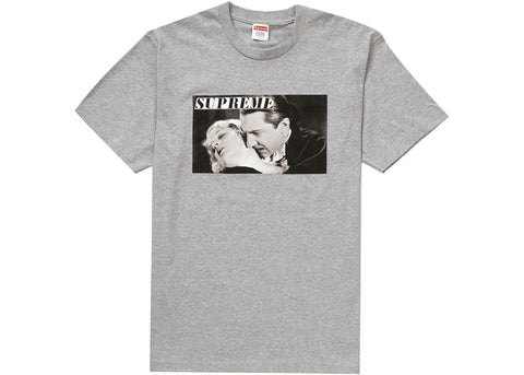 Supreme Bela Lugosi Tee Heather Grey