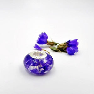 CHARM BEADS- Flower Petal & Cremation Jewelry