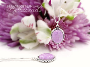 Memorial Jewelry made from Flower Petals, Alexandra Collection Pendant