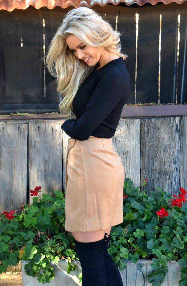 Wanderer Mini Skirt by Minty Meets Munt - Picpoket