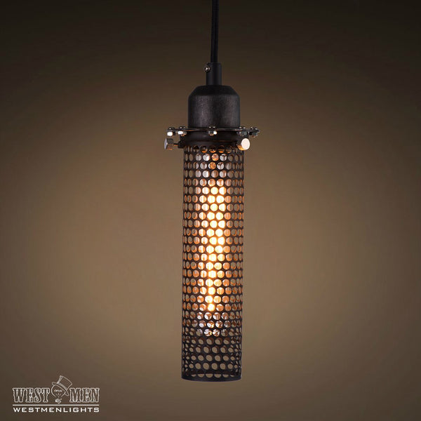 Cylinder 1 Light Industrial Pendant Lighting -  westmenlights
