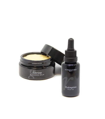 Glorious Cleansing Balm & Redemption Face Oil