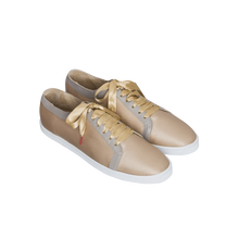 Load image into Gallery viewer, Boubou Silk Gold - SILK SNEAKERS