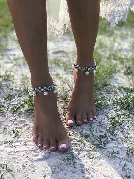 Diamond&Pearl Anklets