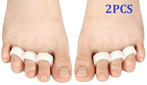 Cerkos Small Gel Toe Separators Toe Protectors Spacers Straighteners - Cerkos.com